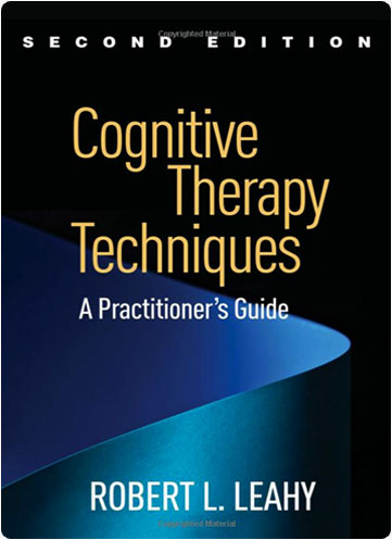 """book cover for cognitive therapy techniques"""""""