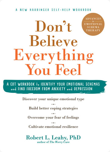 """book cover for """"don't believe everything you feel"""""""