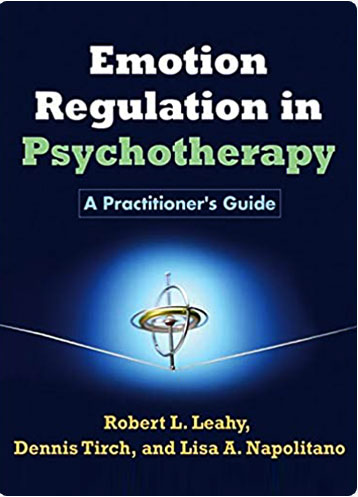 """book cover for """"emotional regulation in psychotherapy"""""""
