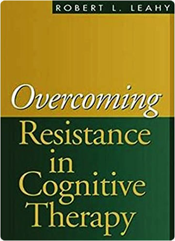 """book cover for """"Overcoming resistance in cognitive therapy"""""""