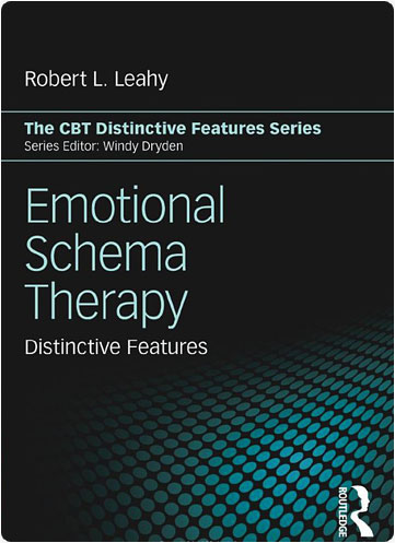 """book cover for """"emotional schema therapy"""""""