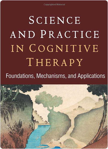 """book cover for """"Science and Practice in cognitive therapy"""""""